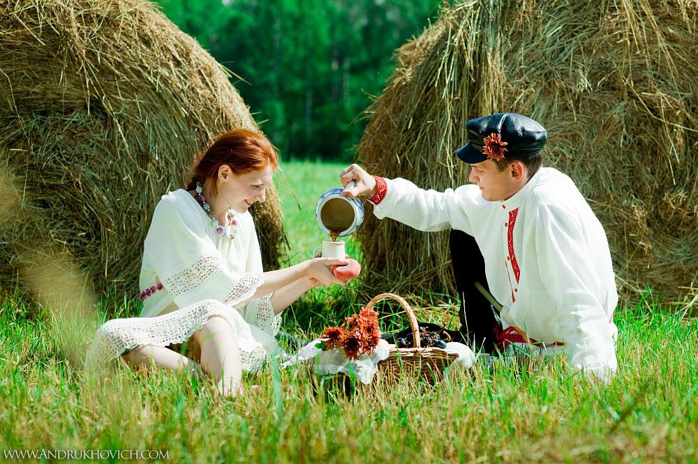 деревенский пикник