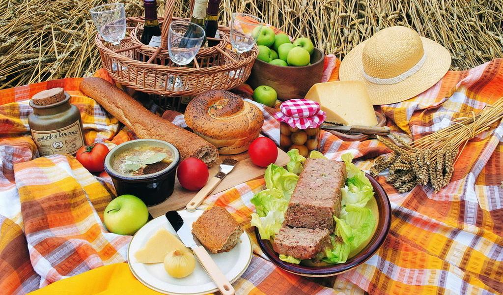 пикник в конце лета