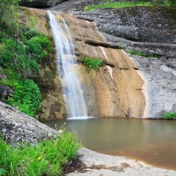 Водопад Джурла в Алуште