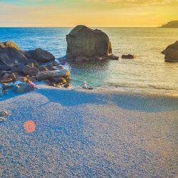Детский пляж в Алупке