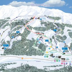 Трассы горнолыжного курорта «Архыз»