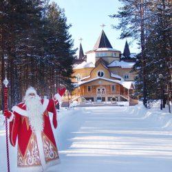 В Новый год россияне будут отдыхать в Великом Устюге и Красной поляне