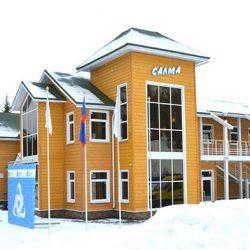 Гостиницы горнолыжного комплекса Салма
