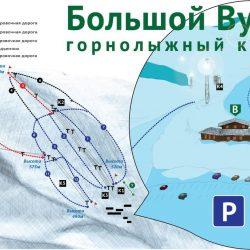 Горнолыжный комплекс Большой Вудъявр