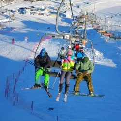 Трассы горнолыжного курорта Игора