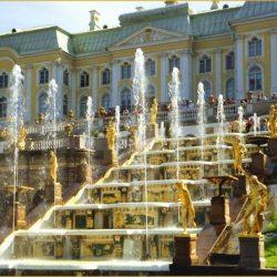 Петергоф — дворцово-парковый ансамбль