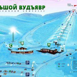 Горнолыжные склоны и трассы Кировска