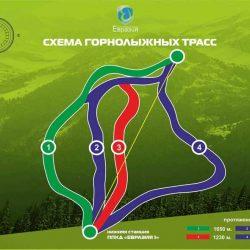 Трассы ЦАО «Евразия»