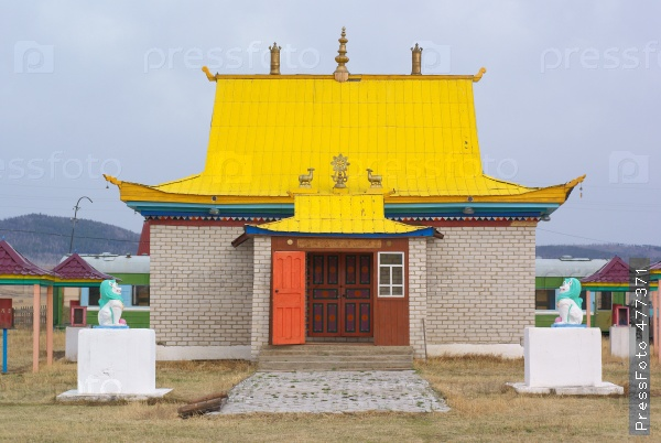 Буддийские храмы в России
