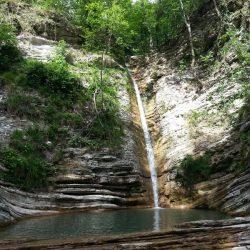 Водопады Адербиевки