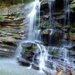Водопады Берегового
