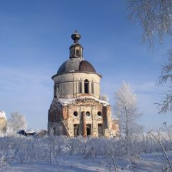 Село Чаронда в Вологодской области