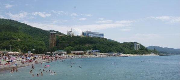 Пляжи Небуга