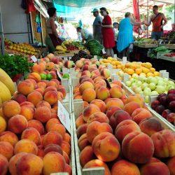 Рынки и магазины Мирного