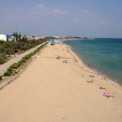 Пляжи Заозерного