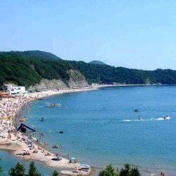 Пляжи в Лермонтово