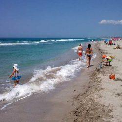 Пляжи Мирного