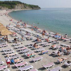 Пляжи Ольгинки