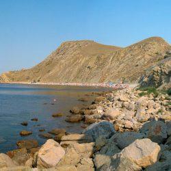 Пляжи Орджоникидзе