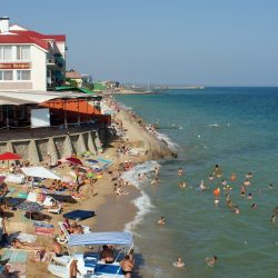 Пляжи Приморского