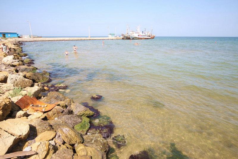 Пляжи Тамани