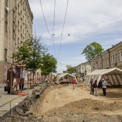 В Ростове при ремонте улицы нашли древний некрополь