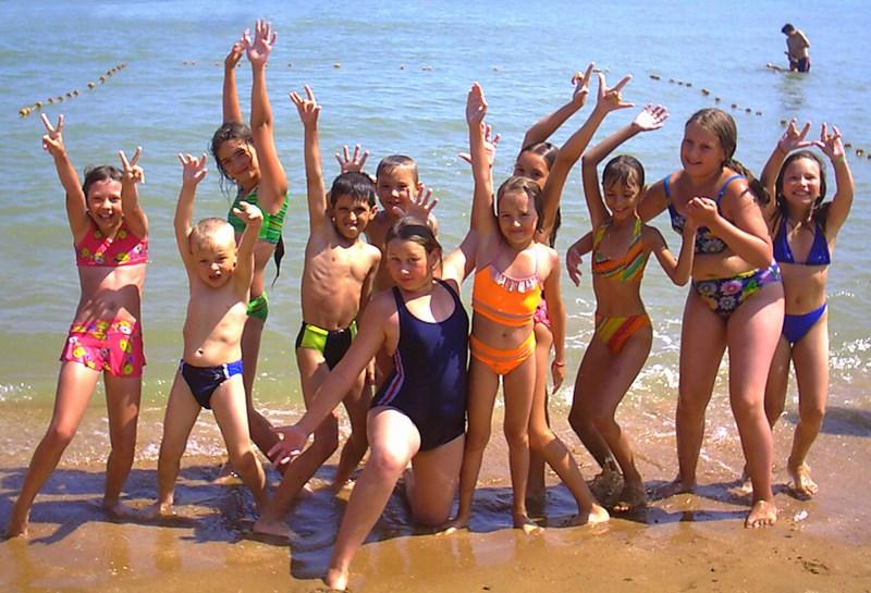 Детские лагеря Голубицкой