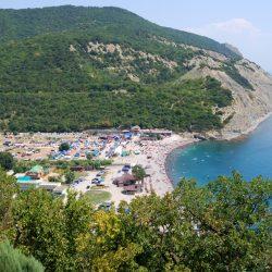 Пляжи Абрау-Дюрсо