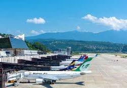 Трехмиллионный пассажир в аэропорту Сочи появился на месяц раньше