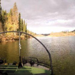 Таежная Сибирь, рыбалка (и отдых) в октябре