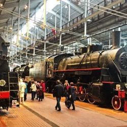 Самый большой железнодорожный музей России открылся в Санкт-Петербурге