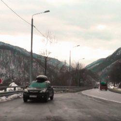 На машине в Сочи зимой: полный отчёт о маршруте
