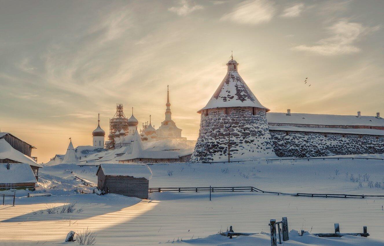 4 причины отправиться на Соловки зимой: тишина, умиротворение и местные жители