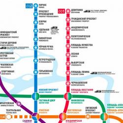 В 2018 году в Санкт-Петербурге откроются 5 новых станций