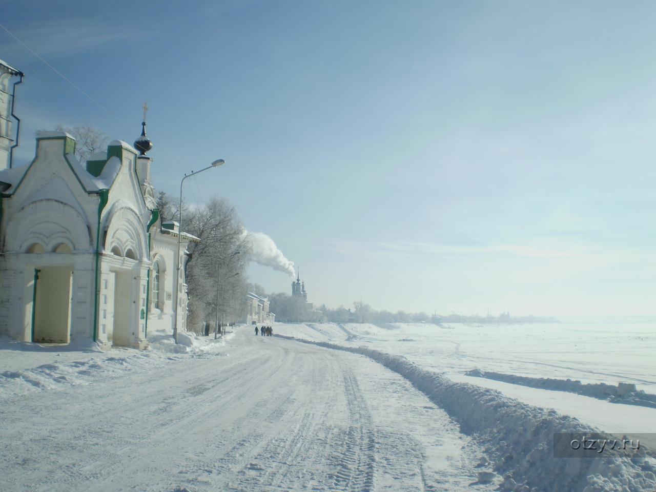 Куда поехать на машине в России на Новый Год?