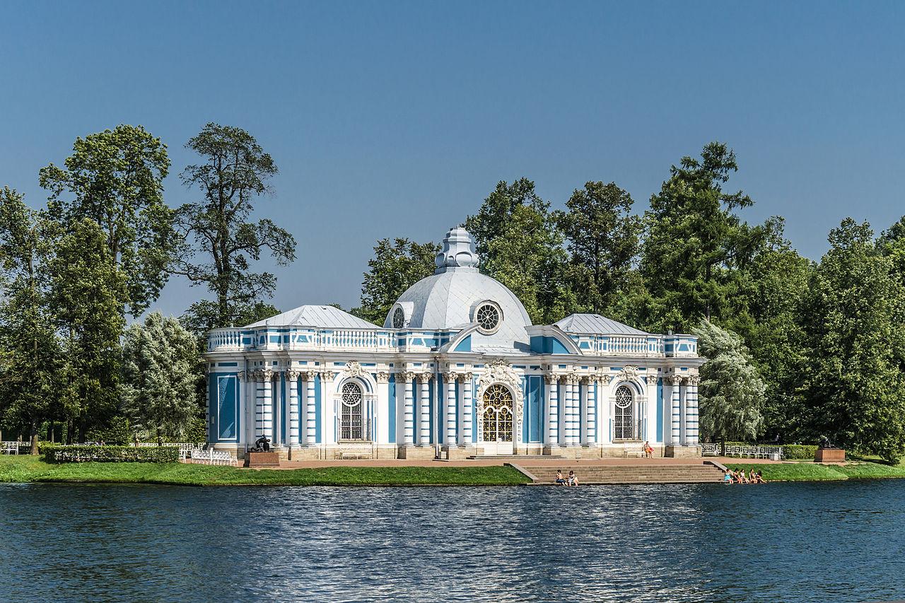 Какие дворцы есть в Петергофе