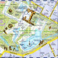 Карта города Пушкин