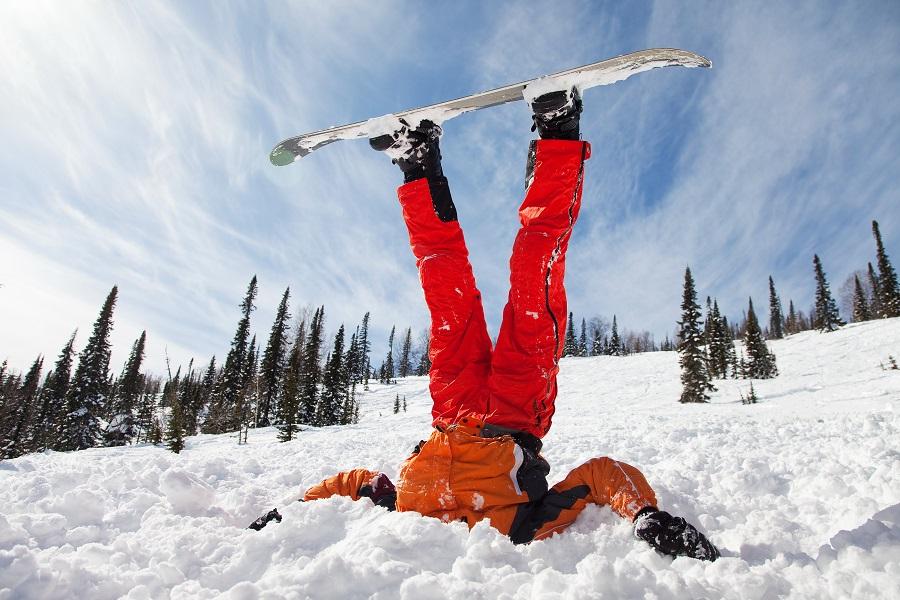 Веселые картинки про горнолыжников
