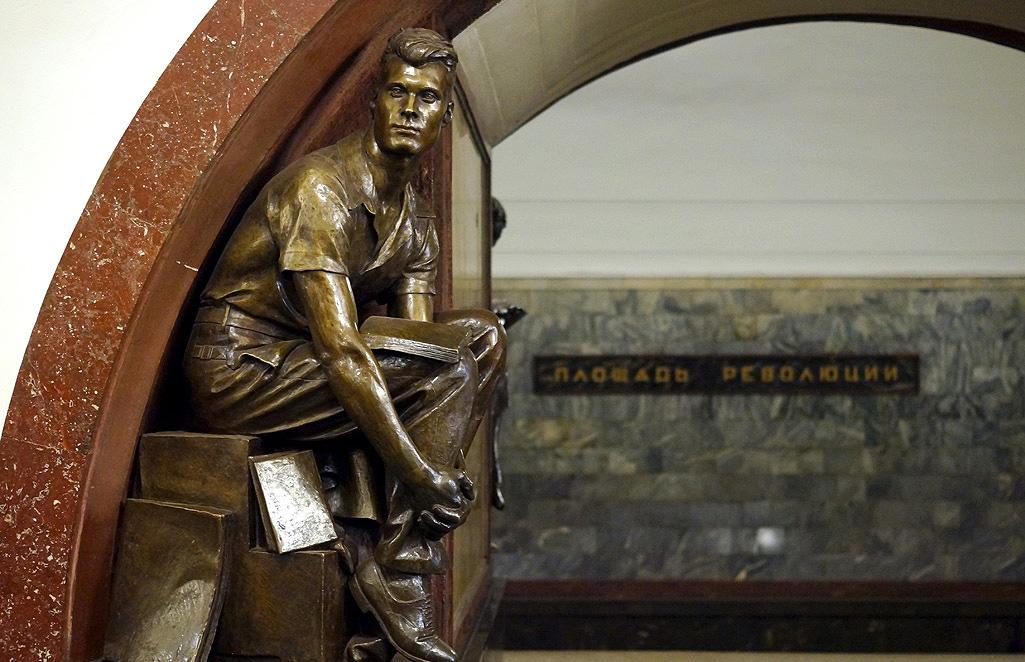 Московское метро – вернисаж под землей