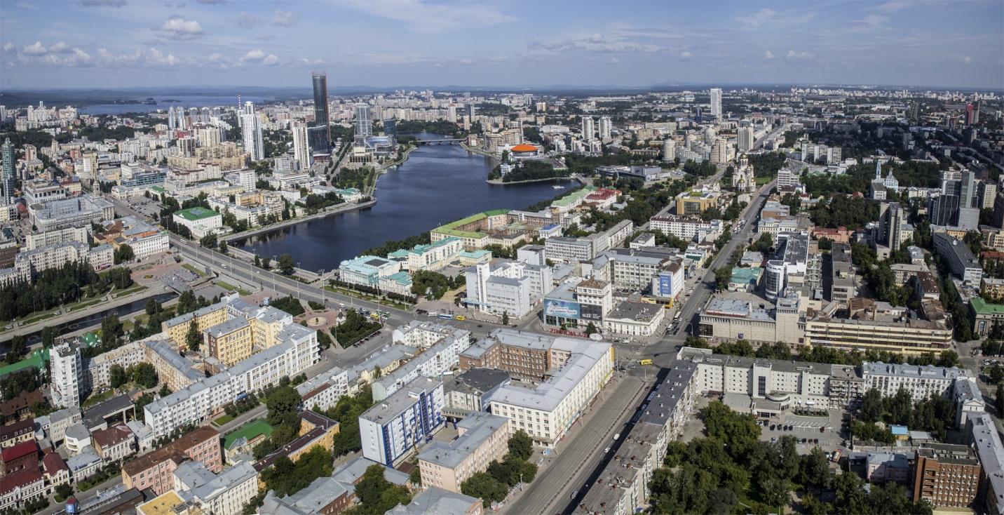 Екатеринбург – город, который стоит на стыке Европы и Азии