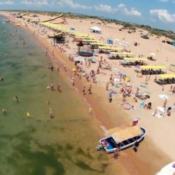Пляжи в Витязево: вода, особенности, берег