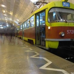Подземный трамвай в Волгограде