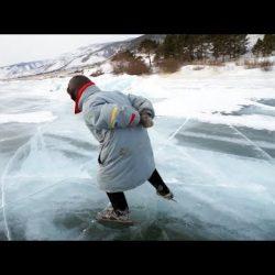 Баба Люба — байкальская конькобежка