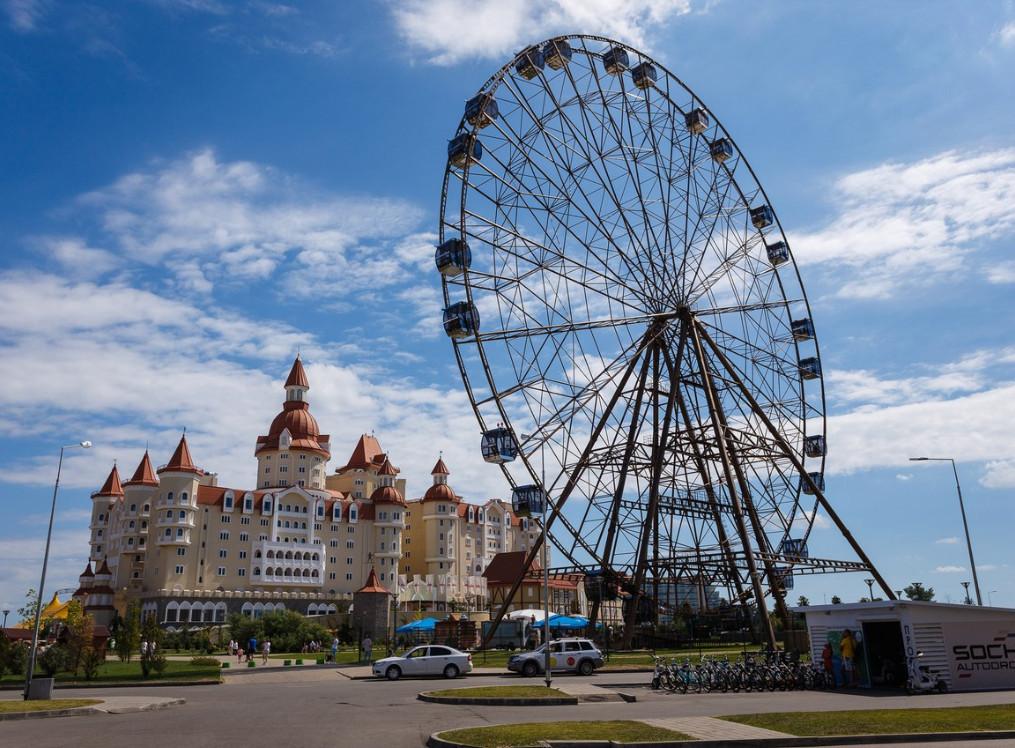 Идем в лучший парк аттракционов России