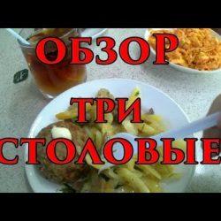 Видео обзор столовых в Анапе на набережной