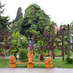 Парки и зеленые зоны в Лазаревском