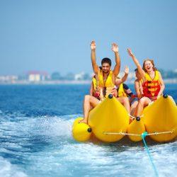 Водные развлечения на море в Сочи: пляжи и цены