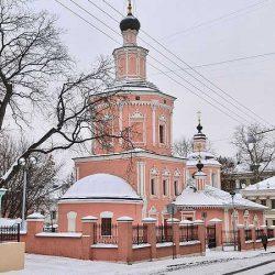 Храм Святой Троицы в Хохлах в Москве
