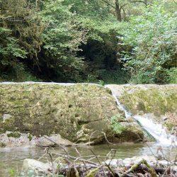 Водопады в Якорной Щели
