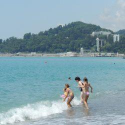 Пляжи Хосты